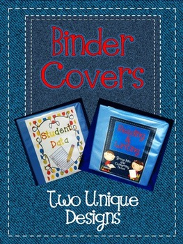Binder Covers for All Subjects