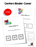 Binder Covers for Centers