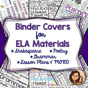 Binder Covers for ELA
