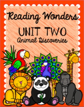 Binder Covers for Reading Wonders - 2nd Grade