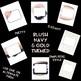 Binder Covers | simple, elegant, blush, navy, gold, glitter