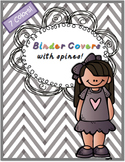 Binder Covers with Spines {Editable}