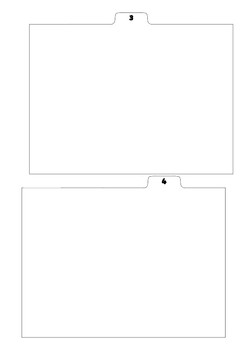 Binder Divider Tabs For Resources Printed 2 Per Page in PDF