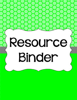 Binder/Document Covers & Spines - Essentials: Honeycomb (Inverted)