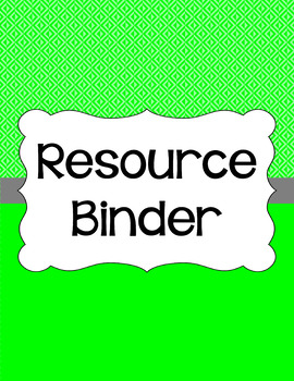 Binder/Document Covers & Spines - Essentials: Inverted Triangles