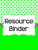 Binder/Document Covers & Spines - Essentials & White: Diamond Scallops (Inverted