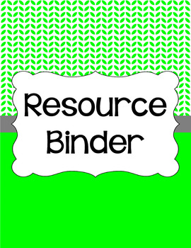 Binder/Document Covers & Spines - Essentials & White: Leaves