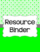 Binder/Document Covers & Spines - Essentials & White: Rectangles (Inverted)