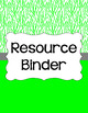Binder/Document Covers & Spines - Essentials & White: Tiger Stripes