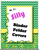 Silly Binder Folder Covers - Editable & FREE!