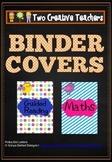 Binder Folder Covers Boho Birds Theme