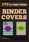 Binder Folder Covers Ocean Themed