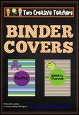 Binder Folder Covers Ocean Themed