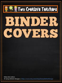 Binder Folder Covers - Wizard of Oz