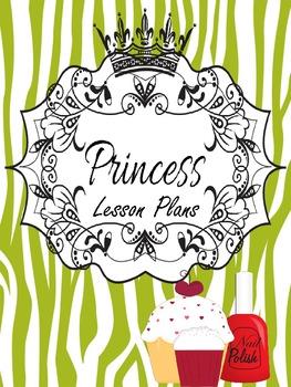 Binder Lime Pretty Princess Teacher Totebook