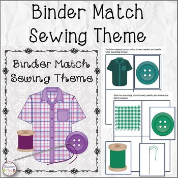 Binder Matching Sewing Theme