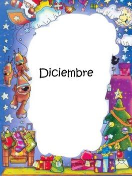 Binder Months division Español
