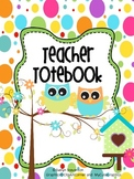 Binder Owl That Teacher Totebook