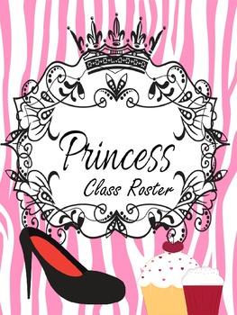 Binder Pink Pretty Princess Teacher Totebook