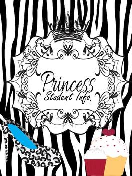 Binder Pretty Princess Teacher Totebook
