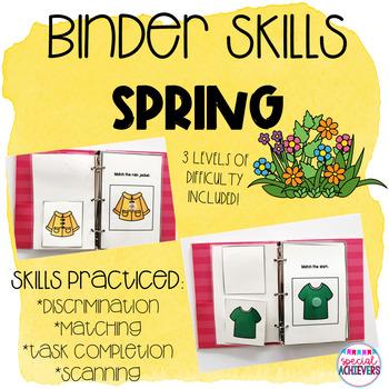 Binder Skills Bundle 5: Spring