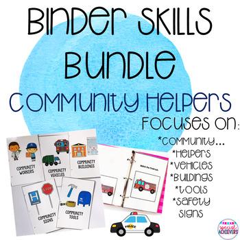 Binder Skills Bundle: Community Helpers