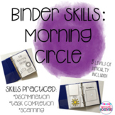 Binder Skills: Morning Circle