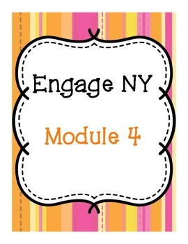 Binder & Spine Covers for Engage NY Math Notebooks