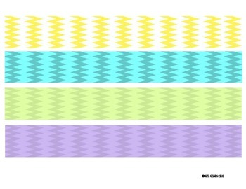 Binder Spine Labels