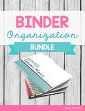 Binder Spines & Covers BUNDLE