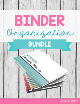 Binder Spines & Covers BUNDLE
