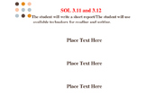 Binder Spines for Virginia Reading SOLs 3.11 to 3.12