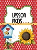 Binder Sunny Flowers Teacher Totebook