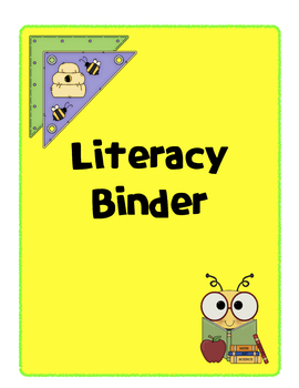 Binder cover for Literacy