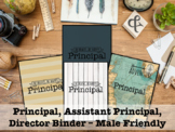 Binder for Principal, Assistant Principal - Male Friendly