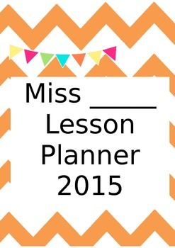 Binder or planner cover