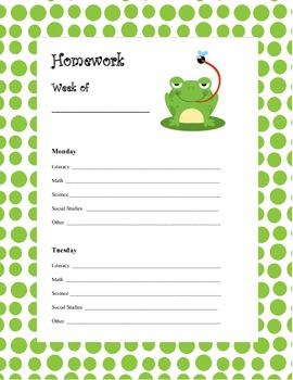 Home School Communication Binder