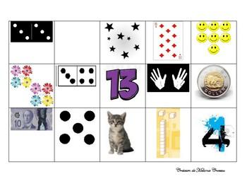 Bingo 0 to 20