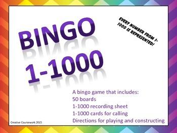 Bingo 1-1000