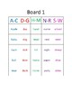 Bingo - 100 Noun Dolch Words - 8 boards - 100 sight noun words - color coded