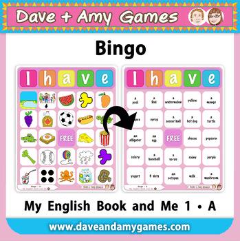 Bingo: My English Book and Me 1