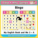 ABC Phonics Bingo: My English Book and Me: Elementary 1