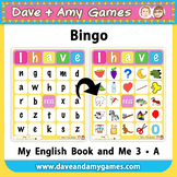 ABC Phonics Bingo: My English Book and Me: Elementary 1
