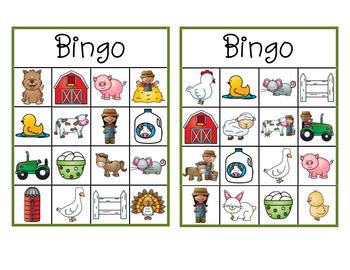 Bingo À la ferme