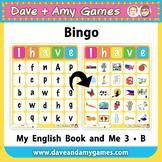 ABC Phonics Bingo: My English Book and Me: Elementary 1 Set B