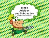 Bingo-  Addition  and Subtraction within 100- Second Grade