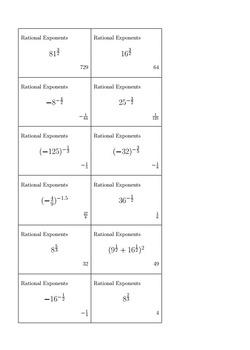 Bingo Algebra - Monomials