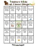 Bingo: At Home Nature Kids
