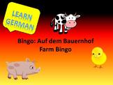 Bingo Auf dem Bauernhof (Farm Bingo German)