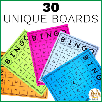 Auto Generated Editable Math Bingo A Quick and Easy Way to Review ANY Skill